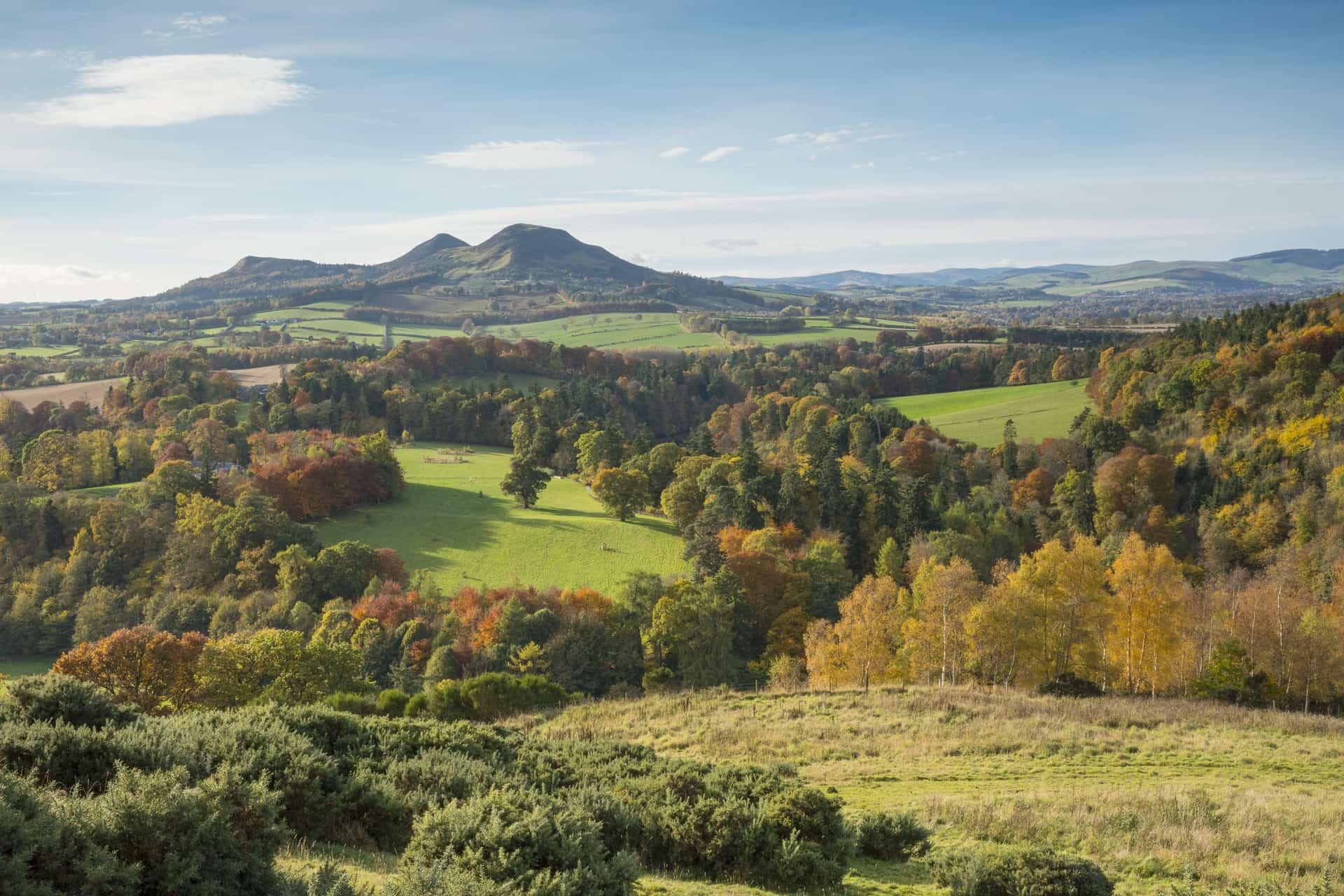 Eildon Hill, Walter Scott's view